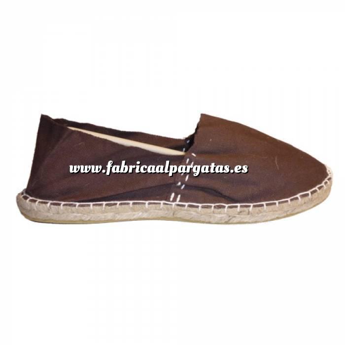 Imagen Marrón Chocolate CLASM Alpargata Clásica cerrada MUJER color MARRON CHOCOLATE Talla 41