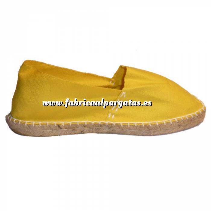 Imagen Amarillo CLASM Alpargata Clásica cerrada Mujer Amarillo Talla 41