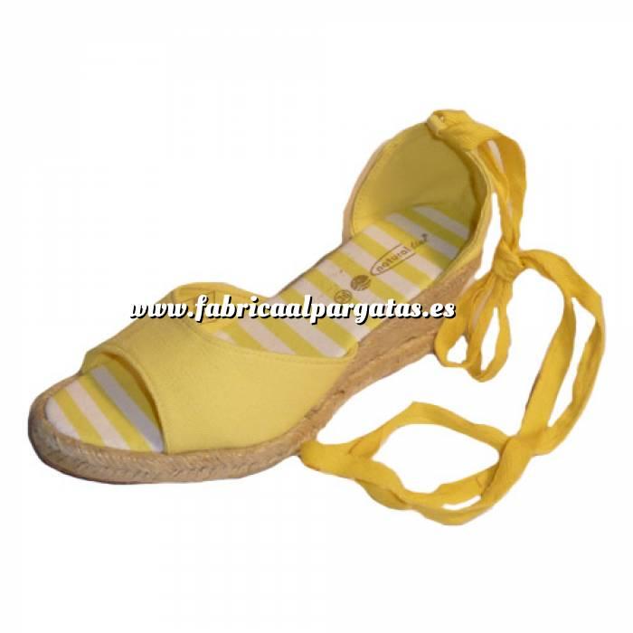 Imagen Amarillo Y104307-S Alp.Val. Mujer Abierta Amarillo Talla 40