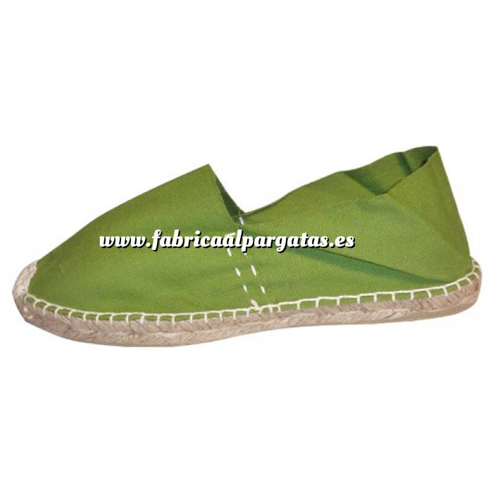 Imagen Verde Oliva CLASM Alpargata Clásica cerrada Mujer Verde Oliva Talla 38